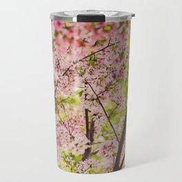 Spring Cherry Blossom Travel Mug