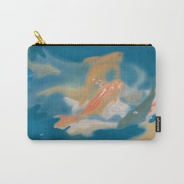 koi {blue} Carry-All Pouch