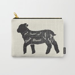 Lamb Butcher Diagram-Sheep Carry-All Pouch