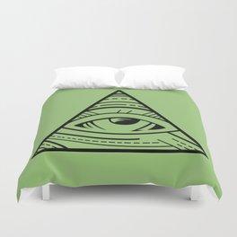 CSS Pun - Illuminati Duvet Cover