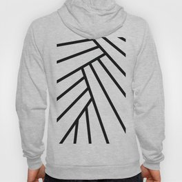 Tropical Leaf Abstract Hoody