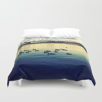 river Duvet Covers featuring River by kingseyb