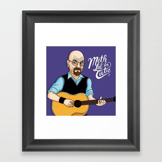 Meth Lab for Cutie Framed Art Print