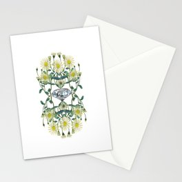 APRIL -Birth Stone & Flower Print Stationery Cards