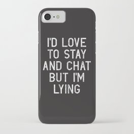 Chat iPhone Case