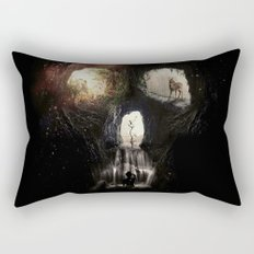 Cave Skull Rectangular Pillow