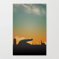 Goodnight Scoundrel Canvas Print