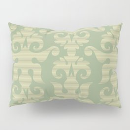 Pattern - Green Chevron Desmask Pillow Sham