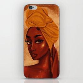 U R my african queen iPhone Skin