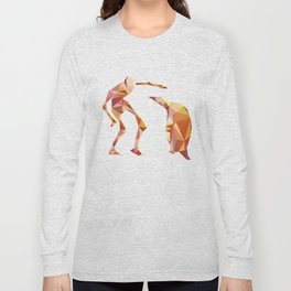 Electric Pinguin Long Sleeve T-shirt