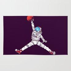 space dunk (purple ver.) Rug