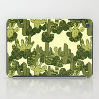cacti iPad Cases featuring Cacti by Lburleighdesigns