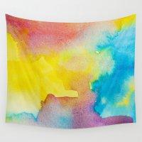 heaven Wall Tapestries featuring Heaven by elena + stephann