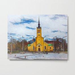 Tallinn art 5 #tallinn #city Metal Print