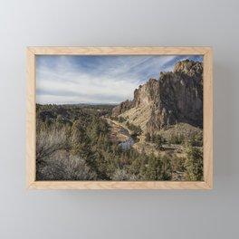Smith Rock and Beyond Framed Mini Art Print