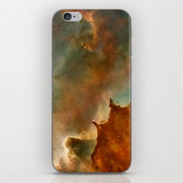 Abstract Space Art iPhone Skin