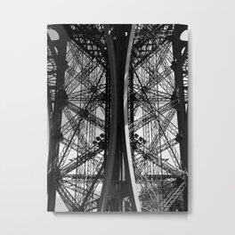 La Tour Eiffel I Metal Print