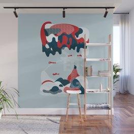 Setting Wall Mural