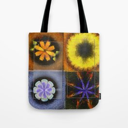 Industrial Form Flowers  ID:16165-024252-22791 Tote Bag