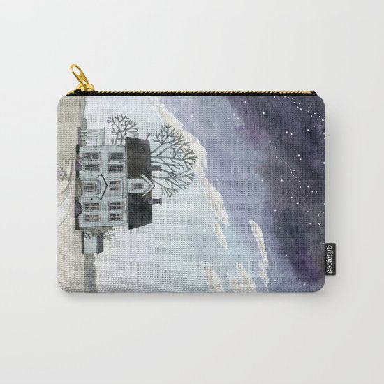 House under the Starry Skies Carry-All Pouch