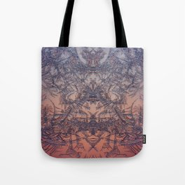 Fire from frost Tote Bag
