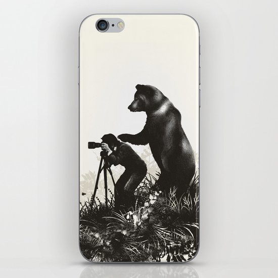The Bear Encounter II iPhone & iPod Skin