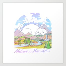 Nature Is Beautiful Art Print