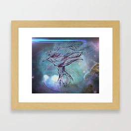 Fly Bird Framed Art Print