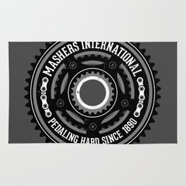 Mashers International (dark grey) Rug