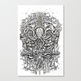 Davey Jones Canvas Print