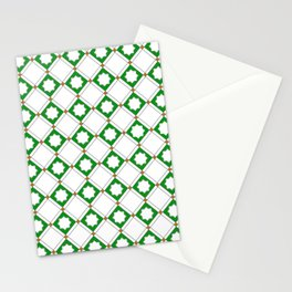 Geometric Pattern - Oriental Star Design  5 Stationery Cards