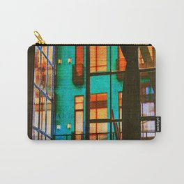 Outside My Window, Urban Art Carry-All Pouch