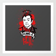 Crowley Is Our King Art Print