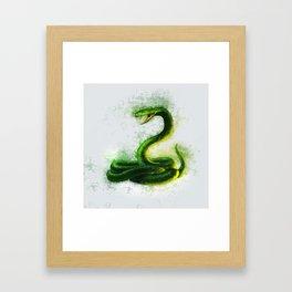 Snake Cobra Framed Art Print