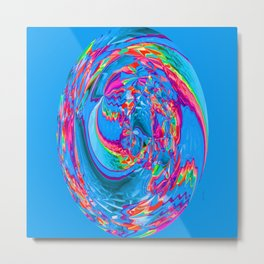 Psychedelic Sink Hole... Metal Print