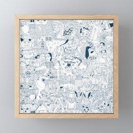 The Infinite Drawing Framed Mini Art Print