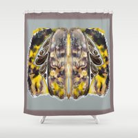 bleach Shower Curtains featuring Leaf Alive by CrismanArt