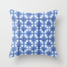 Shibori Itajime Throw Pillow