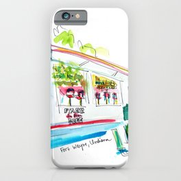 Cindy's Diner iPhone Case
