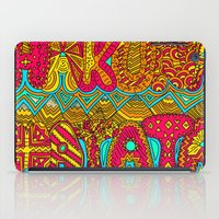 hakuna iPad Cases featuring Hakuna Color by Diego Tirigall