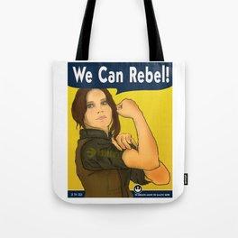 She Can Rebel! Tote Bag