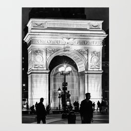 WSQ Arch Illuminated Poster