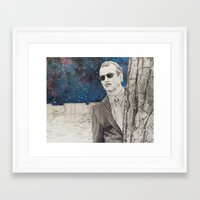 "rushmore Framed Art Prints featuring ""Rushmore"" by Littlefield Designs"