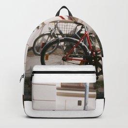 Red Bike Backpack