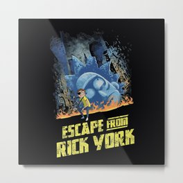 Escape From Rick York Metal Print