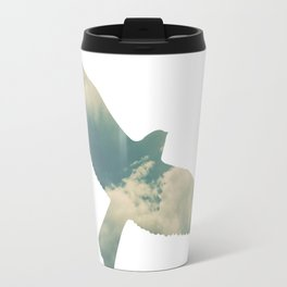 Cloud Bird Travel Mug
