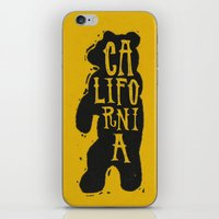 california iPhone & iPod Skins featuring California by Landon Sheely
