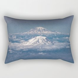 Mount Adams Mt Rainier - PNW Mountains Rectangular Pillow