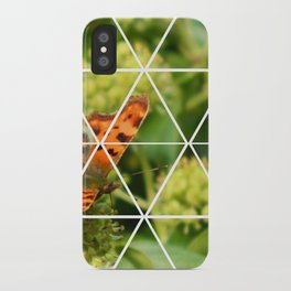 Butterfly Geometric iPhone Case