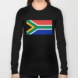 South African flag of South Africa Long Sleeve T-shirt